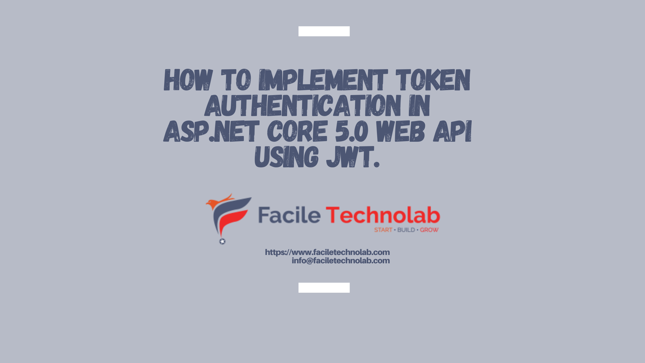 how to implement token authentication in ASP.NET Core 5.0 Web API using JWT