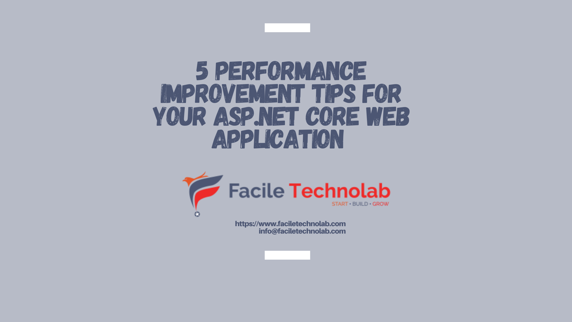 5 performance improvement tips for your asp.net core web application
