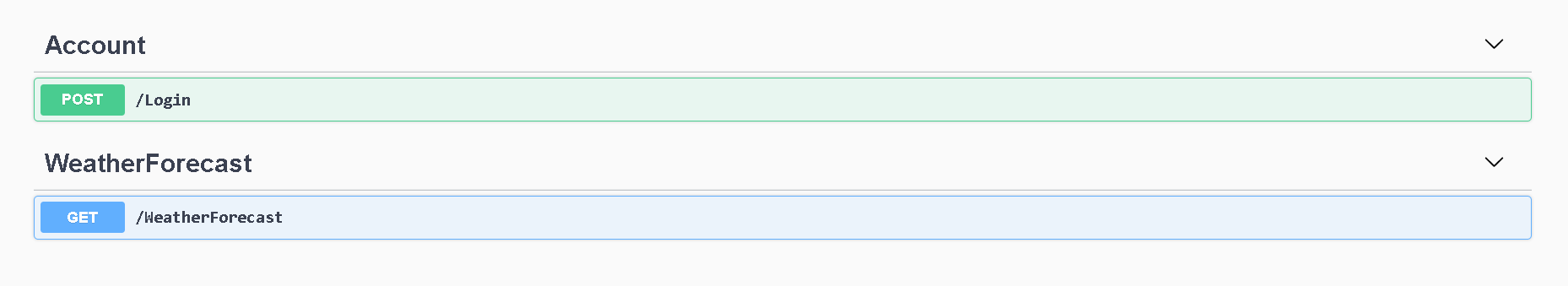 Run project, OpenAPI documentation